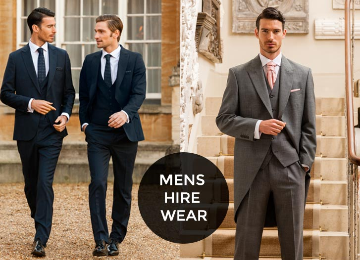 Mens Wedding Suit Hire Aberystwyth
