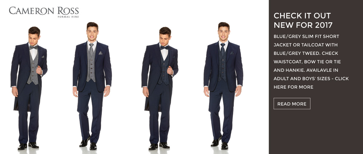 Mens Wedding Suits Hire, Aberystwth